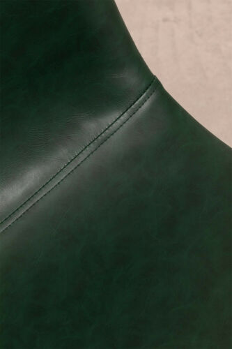 Trend Leatherette Chair - Khaki & Black Legs . Free Delivery.