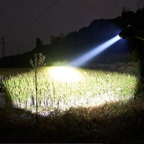 "Handheld 7/""  LED Hunting Spotlight 684W Recharegable Portable Work Light Camping"
