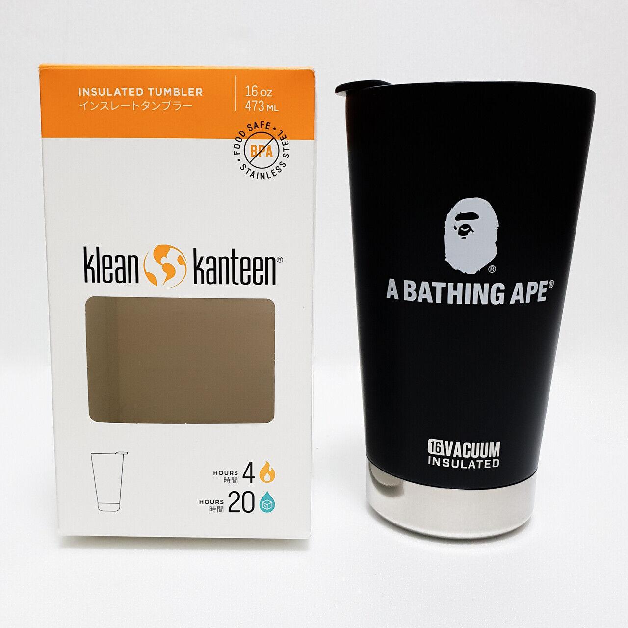 A Bathing Ape ® × Klean Kanteen Bape Vaso De Colección Al Aire Libre 16oz
