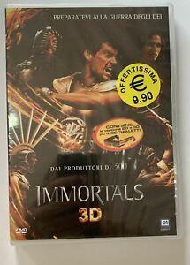 Immortals 3D (2011) DVD Versione 2D e 3D più 4 occhialetti