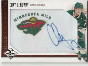 12-13-PANINI-LIMITED-CHAY-GENOWAY-PHENOMS-RC-SP-ROOKIE-AUTOGRAPH-AUTO-499-209