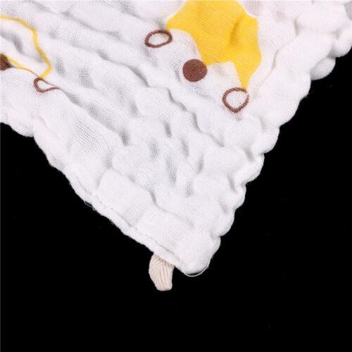 Soft Cotton Baby Infant Newborn Bath Towel Washcloth Feeding Wipe Cloth ah