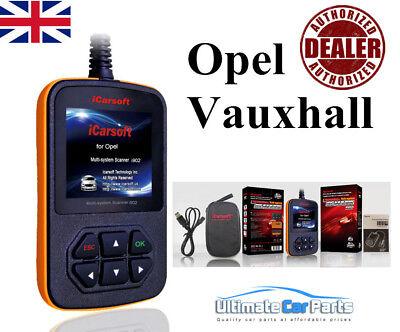 OBD2 iCarsoft op V2 Opel herramienta de diagnóstico coche motor de ABS SRS escáner de código de avería