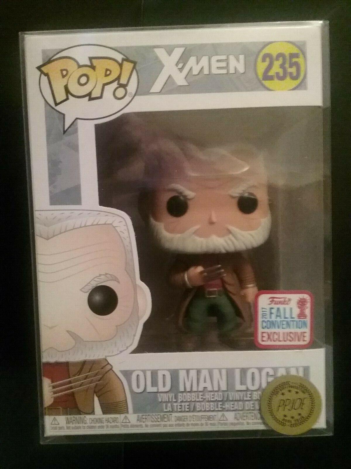 Funko Pop Old Man Logan Marvel comics Exclusive Free Pop Predector