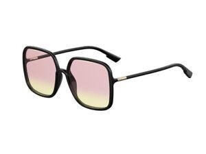 Occhiali-da-Sole-Dior-Autentici-SOSTELLAIRE1-807-VC-nero-rosa