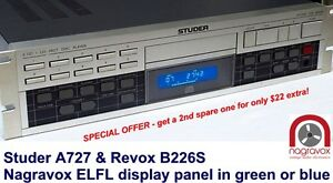 Revox-B226S-Studer-A727-CD-Player-ELFL-Luminescent-display-panel-lamp