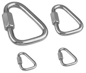 Karabinerhaken mit Schraubverbinder Verschiedene Größen
