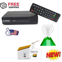 Hdmi Atsc Signal Tv Box Digital Converters Hdtv Receiver Antenna W/ Usb + Remote