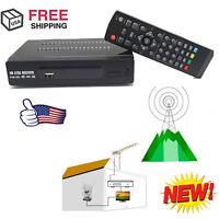 Hdmi Atsc Signal Tv Box Digital Converters Hdtv Receiver Antenna W/ Usb + Remote