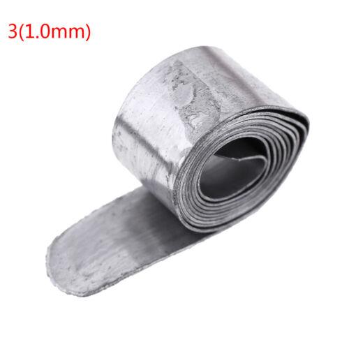 0.6MM-1.2MM 30M Lead Sheet Strip Lead Sinker Tin Roll Fishing Tackle AccessoriIJ