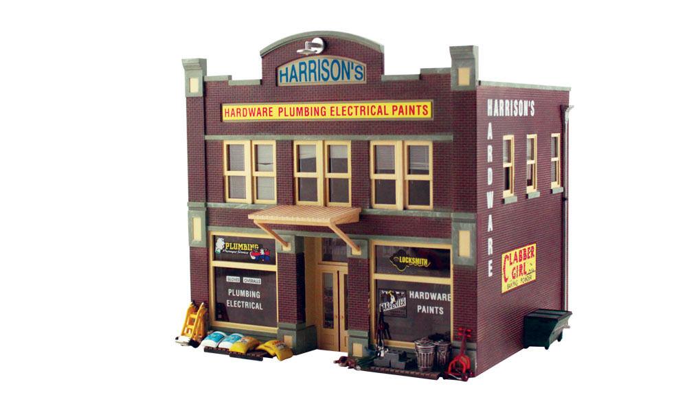 Woodland Scenics PF5891 0 Stadthaus mit Baumarkt    Erlesene Materialien
