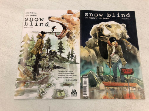 Please Visit My Store Snowblind #1 and #2 Comic Book Lot