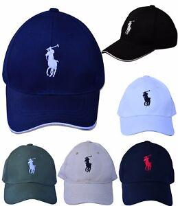 799b5a779c9 Summer Polo Cap Baseball Strap Sun Pony Adjustable Hat Men   Women ...