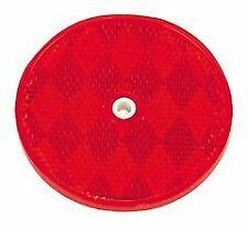 25 Red Round Reflector Truck Trailer 3-3//16 REF3316R