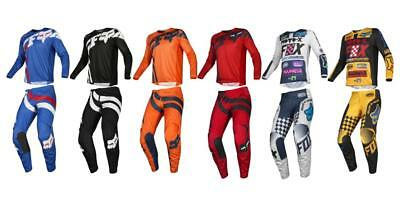 Fox Racing 2019 YOUTH 180 CZAR Jersey and Pants Combo Offroad Riding Gear Black//Yellow Large Jersey//Pants 28W