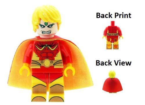Custom Designed Minifigure Adam Warlock Classic Superhero Printed On LEGO Parts