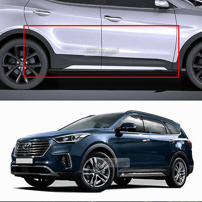 Rear Door Exterior Molding Garnish For 2013~2018 Hyundai Santa Fe XL RH Right