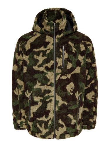 Only /& sons Jacket man Bane Sherpa Hoodie Jacket 22011558