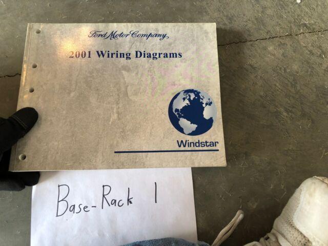 2001 Ford Windstar Wiring Diagram Evtm Service Manual Book