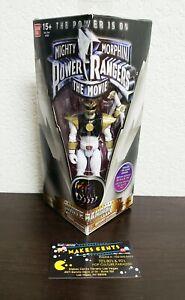 Rare Figurine Rare 1995 - Film White Ranger Tommy Bandai