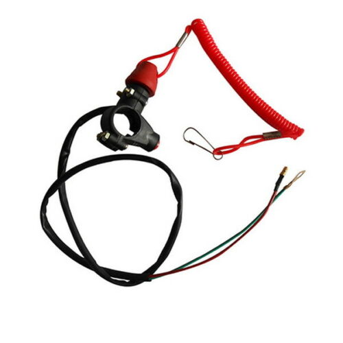ATV Motorcycle Dirt Bike Tether Line Kill switch Universal 50 70 110 125 I KS30