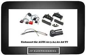 Einbauset-Adapter-Aktivsystem-Bose-fuer-AUDI-A2-3-A4-A6-A8-TT-Radioblende