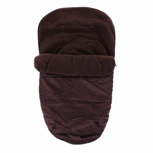 FAST /& FREE SHIPPING!!! Deluxe Universal Footmuff to fit Hauck Miami Brown
