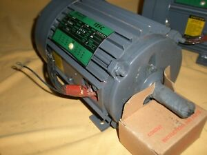 LINCOLN MOTOR T2575 1HP 3PH 1725RPM 200/400V 145T FRAME TEFC 1.15S.F