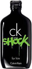 CK One Shock by Calvin Klein Eau de Toilette Spray for Men 6.70 oz