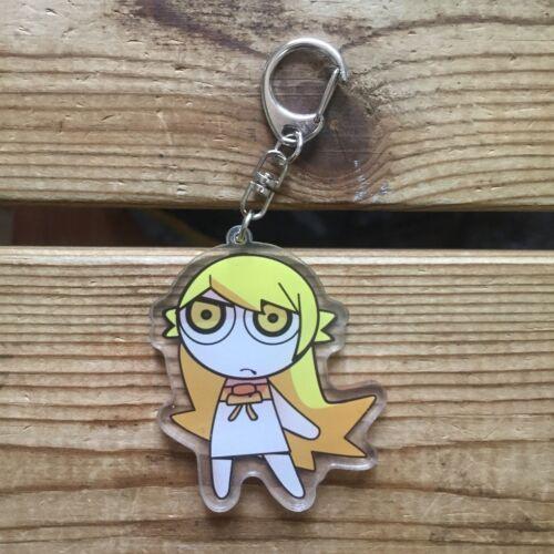Anime Bakemonogatari Oshino Shinobu Acrylic Keychain Strap Bag Hanging Cosplay