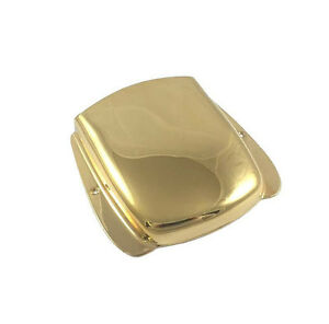 Custom Gold Style Vintage Cendrier Bridge Cover Pour Fender Jazz J Bass ® Jbac-g-afficher Le Titre D'origine éLéGant Dans Le Style