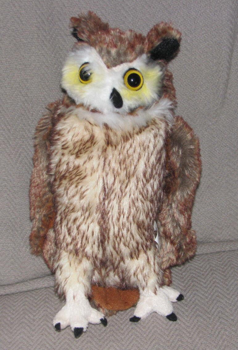 Harry Potter Warner Bredhers The Making of Studio Tour LONDON Owl Plush Toy EUC