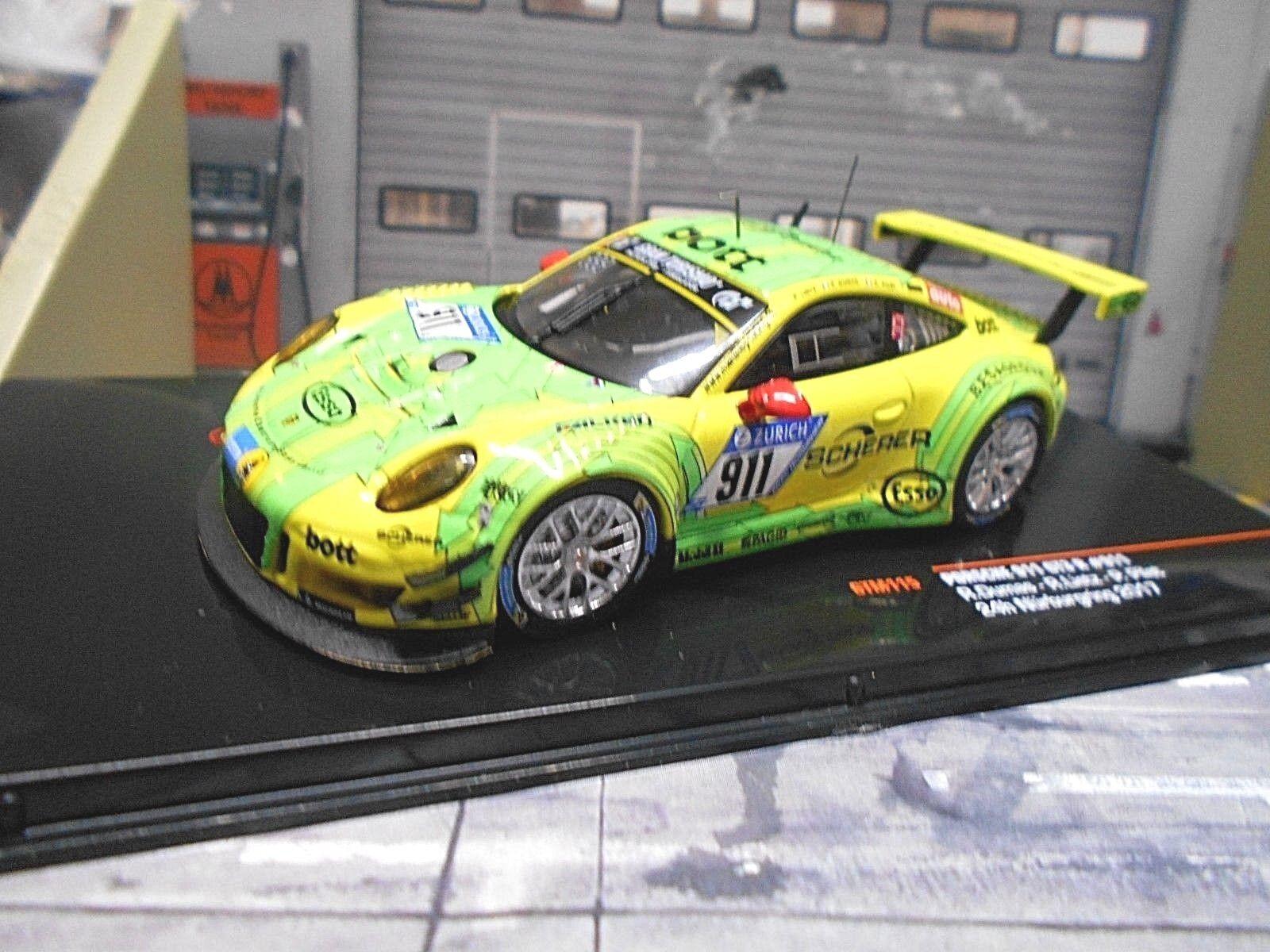 Porsche 911 991 gt3 R 24h nurburgring 2017 Manthey Manthey Manthey scherer  911 Dumas Ixo 1 43 d63fa2