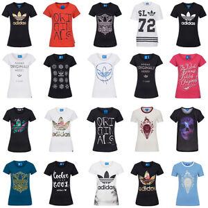adidas originals damen t shirt women shirt freizeit. Black Bedroom Furniture Sets. Home Design Ideas