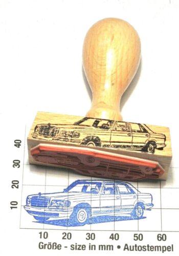 Autostempel rubberstamp Mercedes-Benz W126 260SE bis 500SE ...