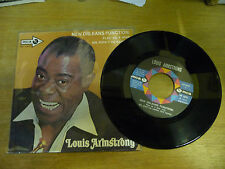 """LOUIS ARMSTRONG""""NEW ORLEANS FUNCTION-disco 45 giri MCA Italy 1970"""""""