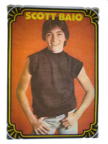 VINTAGE 70/'s SCOTT BAIO IRON ON T-SHIRT TRANSFER