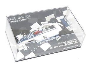 1/43 Parmalat Brabham Ford Bt49c Paul Ricard Essai 1981 M.winkelhock 4012138090828