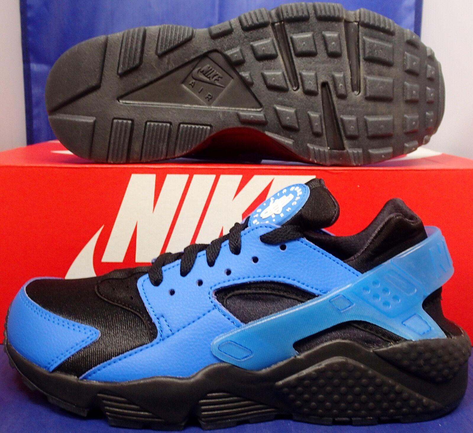 Nike Air Huarache Run ID ID ID Azul Negro Talla 6    para mujer Talla 7.5 (777330-994)  envío rápido en todo el mundo