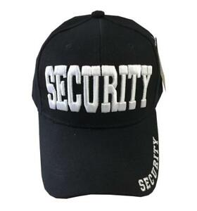 NW POLICE SWAT SECURITY CIA FBI STAFF FUNNY Embroidered Baseball