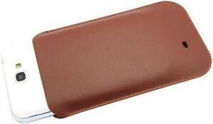 New-ORIGINAL-SAMSUNG-N7100-Galaxy-Note-2-Leather-Pouch-Case-EFC-1J9LCE-Brown