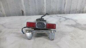 86 Honda CMX250 CMX 250 C Rebel Rear Back License Plate Light Mount Bracket
