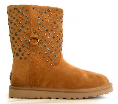 b863a091b5e UGG BOOTS WOMEN SHORT MODEL W ELIOTT 1003184 W CHESTNUT with STUDS | eBay