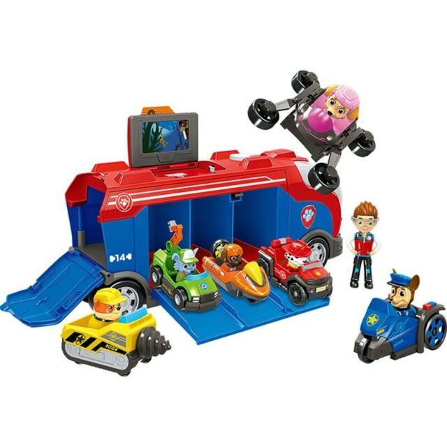 Pat Patrouille Vehicule Figurine Pack Jouet Enfant Jeu Cadeau Noel Anniversaire