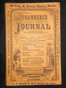 Chambers-039-s-Journal-Christmas-Number-1914-Germany-Scottish-Prophecies-Smyrna