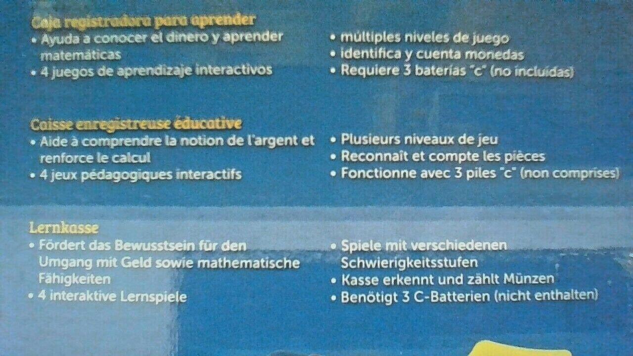 Recursos de aprendizaje enseñanza hablar Caja Registradora 4 construido en las actividades de aprendizaje