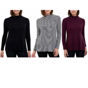 NEW-Jones-New-York-Women-039-s-Long-Sleeve-Turtleneck-Thin-Sweaters-Variety