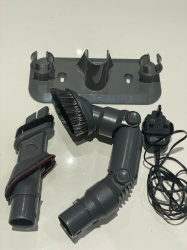 VAX SLIM VAC TBTTV1T1 CORDLESS VACUUM CLEANER WALL BRACKET CHARGER CREVICE PARTS