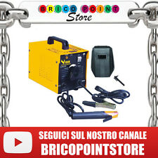 SALDATRICE VIGOR 1800 KIT 2,3 KVA 230 V FUSIBILE 16A ELETTRODO 2 4 MM