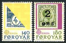 Faroe Islands 43-44, MNH. EUROPA CEPT. Stamp on stamp, 1979